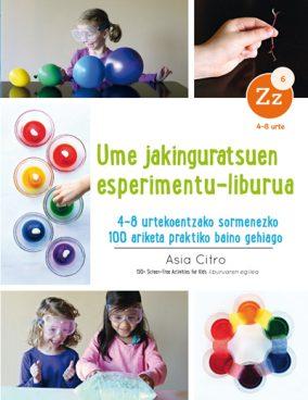 Elhuyarren esperimentu-liburu berria kalean!