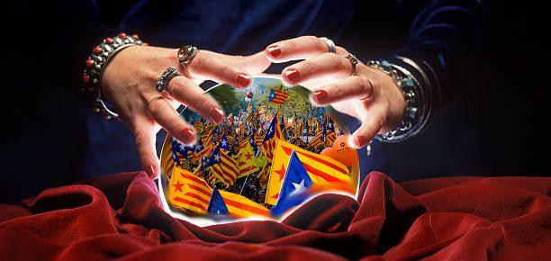 Katalunia analisten kristalezko bolan barna