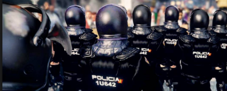 """Polizia: """"Hemen Beirut hartzeko adina polizia dugu"""""""