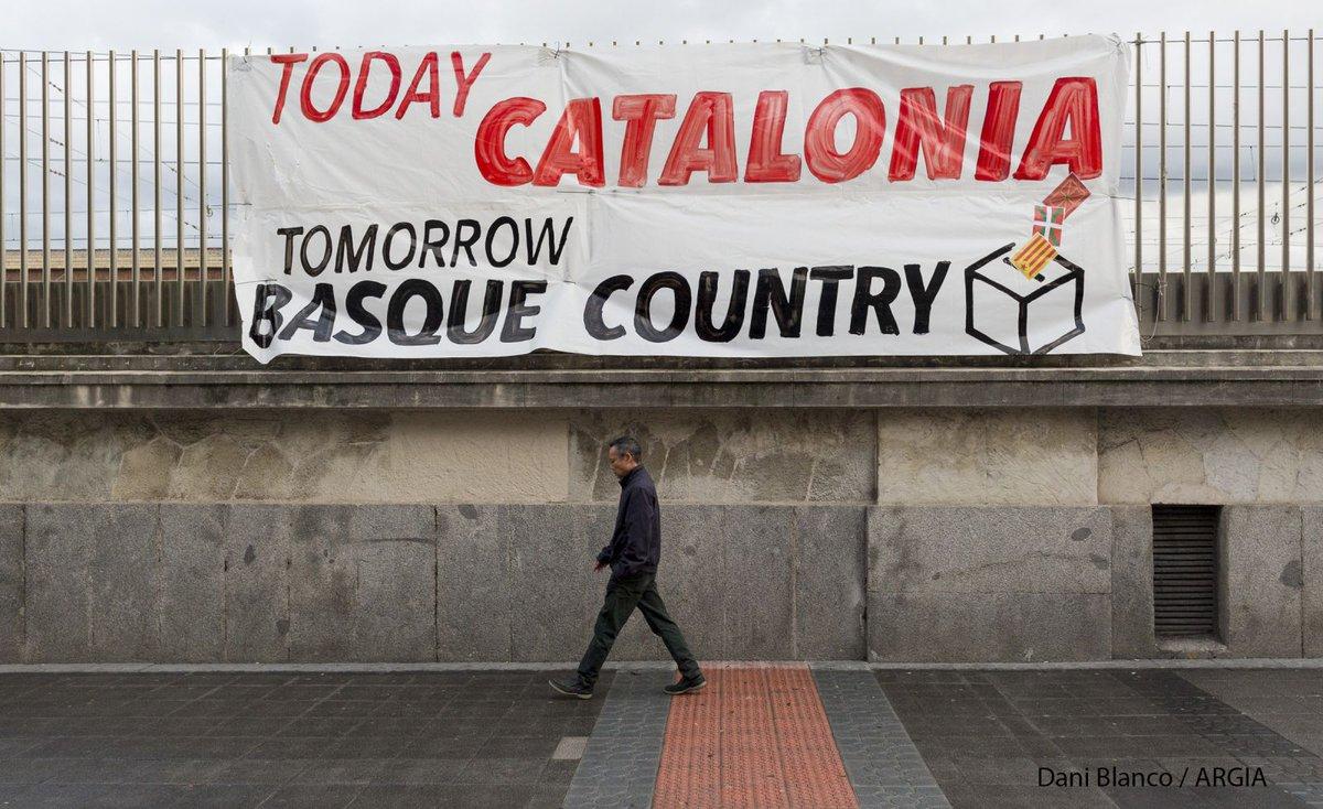 Gaur Katalunia, bihar Euskal Herria