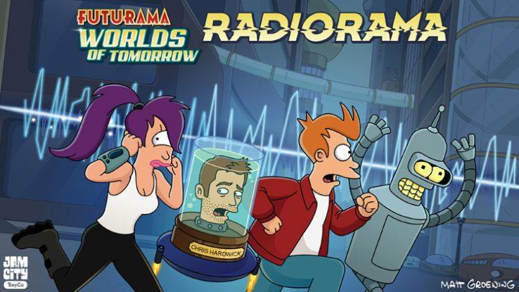 Matt Groeningen Futurama podcast erara itzuliko da