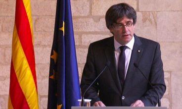 Carles Puigdemonten agerraldia
