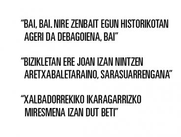 """Xabier Euzkitze: """"Bertsolaritzak nazionala izan behar badu, ideologia orotarikoa ere beharko du"""""""