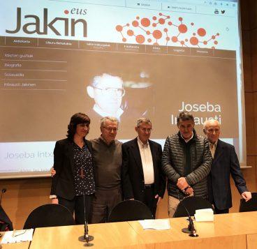 Joseba Intxausti historialari eta euskaltzalearen obra osoa digitalizatua