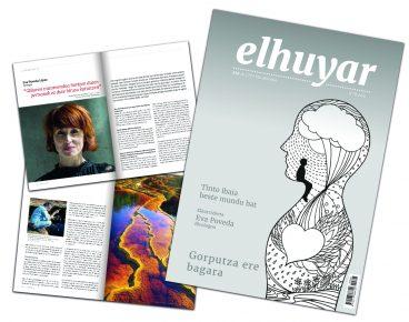 Kalean da Elhuyar aldizkaria, diseinu eta formatu berriekin