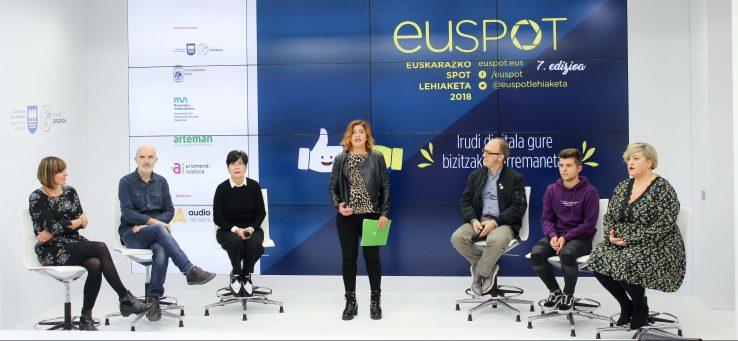 """EUSPOT lehiaketaren 7. edizioa: """"Irudi digitala gure bizitzako harremanetan"""""""