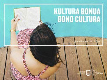 Kultura Bonua salgai Gipuzkoako 51 dendetan