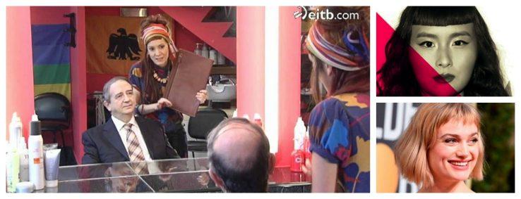 'Nekane' orrazkerari 'Baby bangs' deitu diote Hollywooden
