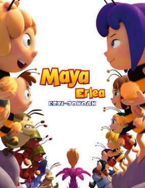 [Zinema Euskaraz] Maya erlea 2: Ezti-Jokoak