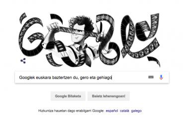 Googlek euskara baztertzen du, gero eta gehiago