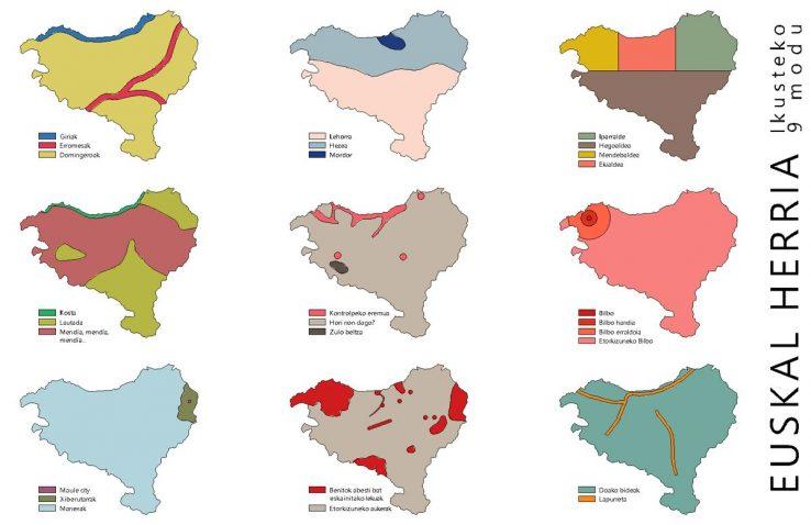 Euskal Herri batua (eta banatuak)