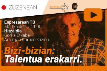 Enpresarean TB Zuzenekoa: talentua erakarri