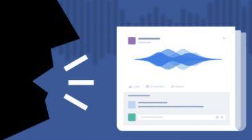 Audio oharrak probatzen ari da Facebook