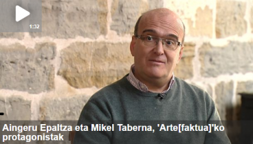 """Arte[faktua] 7: Aingeru Epaltza, """"Mendi-joak"""", Mikel Taberna, """"39 idazle nafar"""" eta """"Aulki-jokoa"""""""