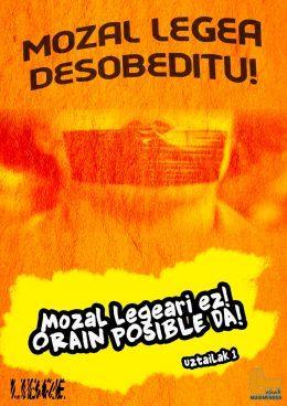 Posible da Mozal Legea kentzea, orain