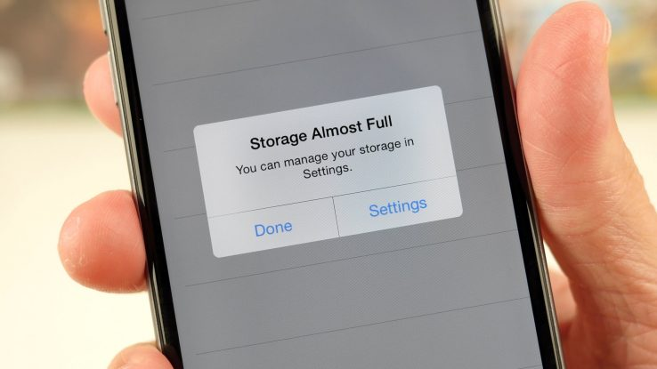 Nola garbitu Iphone edo Ipad bateko memoria?