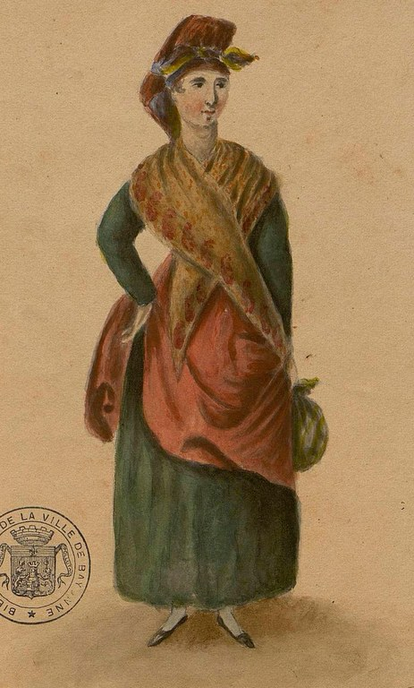 Donibane Garaziko sukaldaria, 1828.