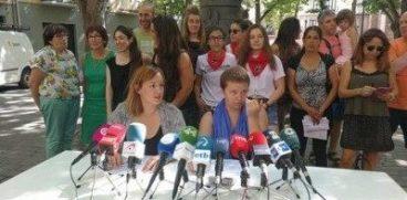 """Iruñean argi dugu: """"Ardura kolektibo eta politikoak behar dira"""""""