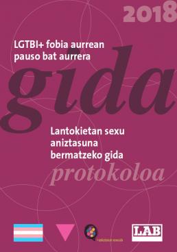 LABek LGTBI+fobiaren kontrako gida berritu du