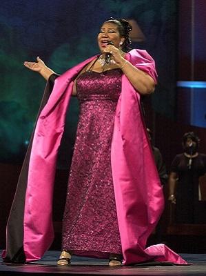Aretha Franklin, 2001ean