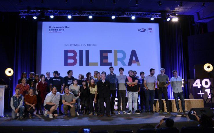 Euskal Zine Bileraren irabazleak Lekeitioko Euskal Zine Bilera