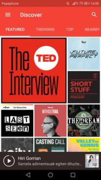 Podcastak hor daude: irratia nahieran
