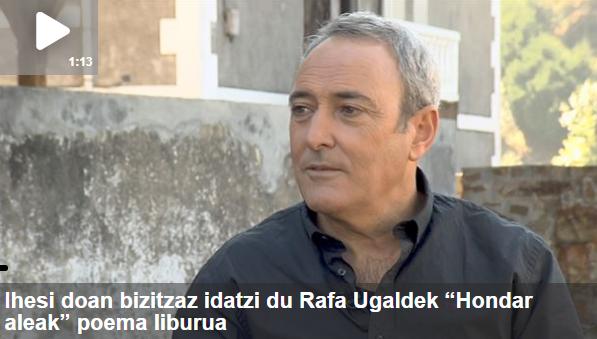 Arte[faktua] 27: Rafa Ugalde 'Hondar Aleak', Beatriz Azpiri, Thierry Biscary