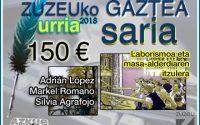 Lopez, Romano eta Agrafojok eskuratu dute urriko Zuzeu Gaztea Saria