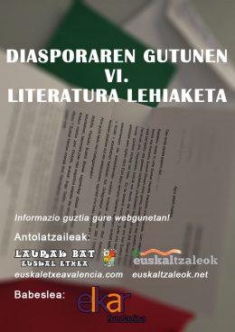 Diasporaren Gutunen VI. Literatura Lehiaketa