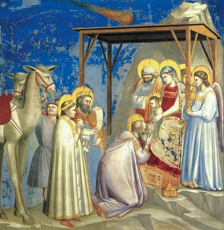 Adorazione dei Magi, Giotto (1303-1305).
