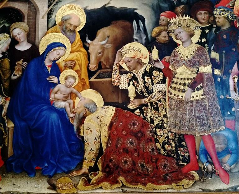 Magoen adorazioa, Gentile da Fabriano, 1423, Florentzia.