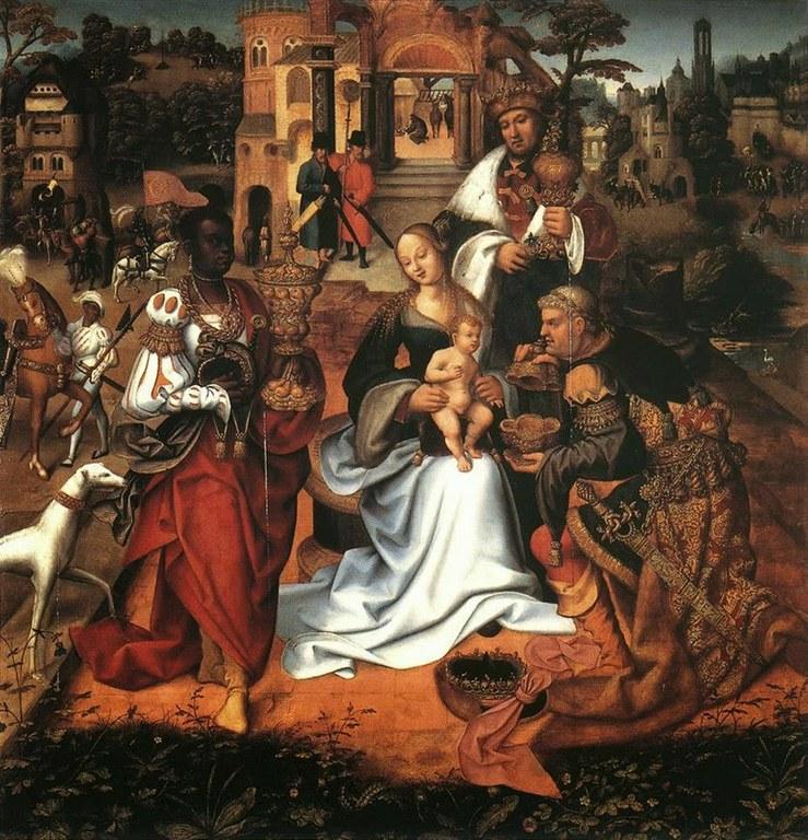 Magoen adorazioa, Maisu flandriar ezezaguna, 1413-1420.