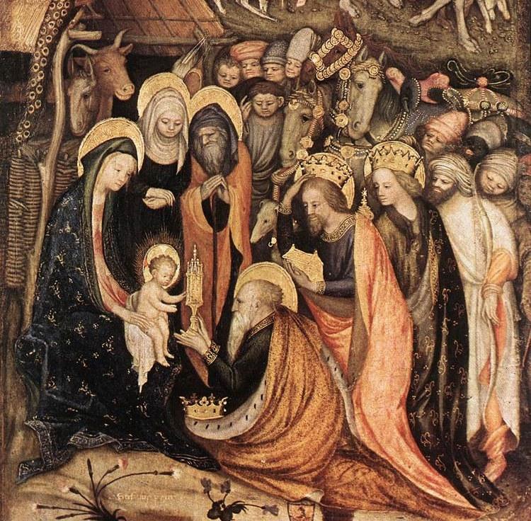 Magoen adorazioa, Stefano da Zevio, 1434, Verona.