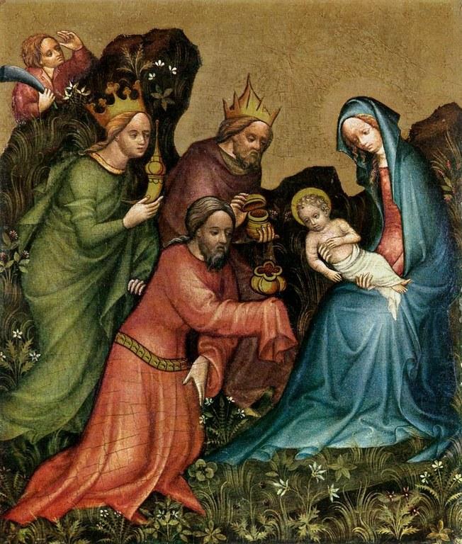 Magoen adorazioa, Vienako maisua, 1400.