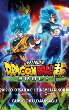 [Zinema Euskaraz] Dragon Ball Super: Broly