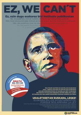 Obamak ere bat egin du hizkuntz-eskubideak errespetatzeko eskatzen duen kanpainarekin