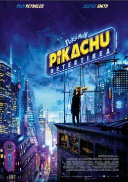 [Zinema Euskaraz] Pokemon Pikachu Detektibea