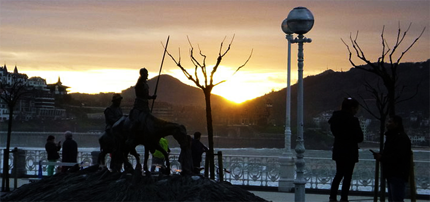 Cervantes eta On Kixote Donostian!