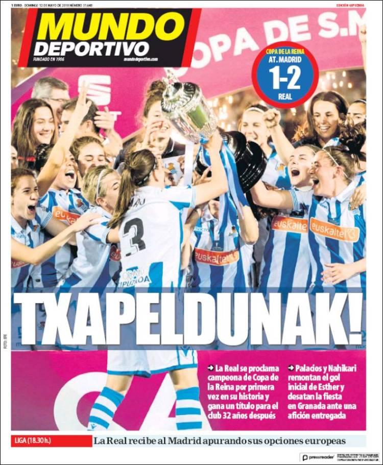 Mundo Deportivo -Gipuzkoako edizioa-