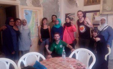 Libanoko brigadaren lehen kronika Shatilatik!