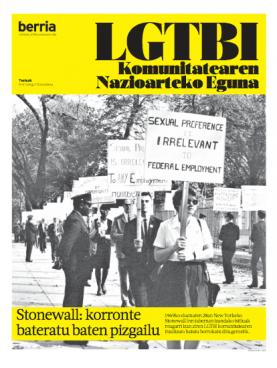 Stonewalleko istiluek 50 urte. Altxamendu baten kronika