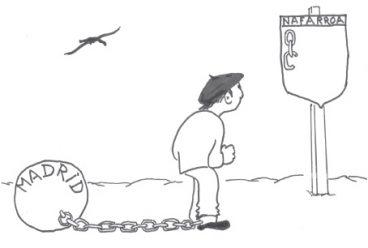 Nafarroa arragoa… Borroka toki ekaitzez betea