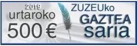 Udako 'ZuZeu Gaztea Saria' inoizko handiena: 1000 euro artikulu onenari
