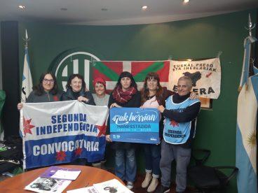 Argentina eta Uruguaiko brigadaren lehen kronika