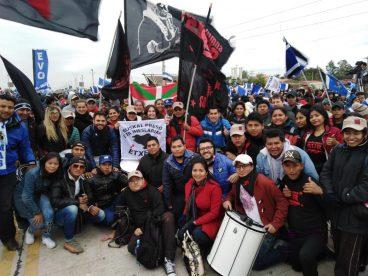 Boliviako brigadaren lehen kronika!