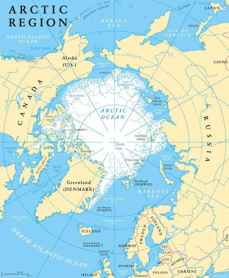 Alaskatik Groenlandiara, dirua eta estrategia