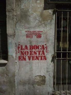Buenos Airesen auzo boterea ezagutzen (Argentina eta Uruguaiko brigadaren 4. kronika)