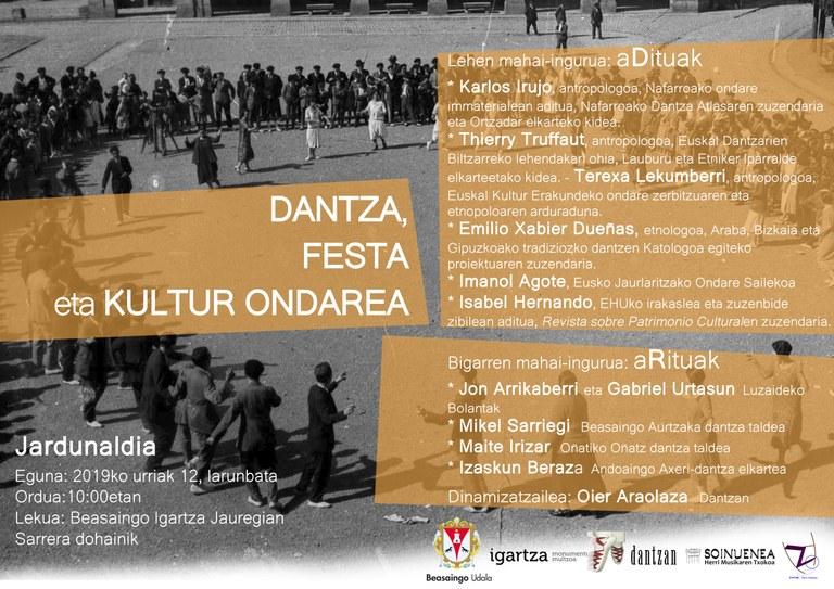 Jardunaldia: dantza, festa eta kultur ondarea