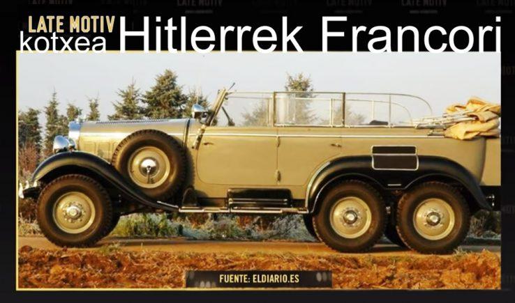 kotxea Hitlerrek Francori