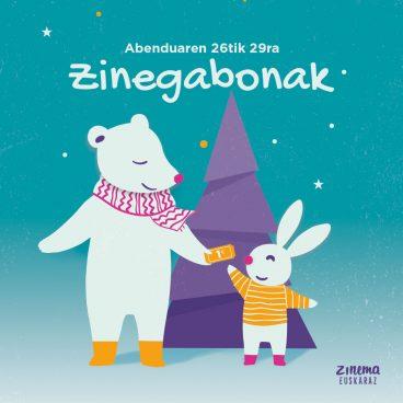 Zinegabonak 2019, animazio tailer eta film gehiagorekin